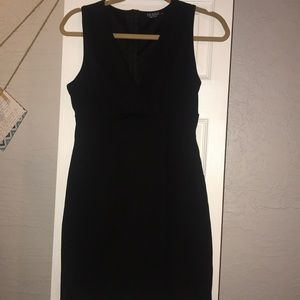 Black mini dress from Joe & Elle